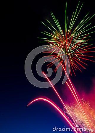 Fireworks in the Sky 2