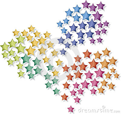 Fireworks stars
