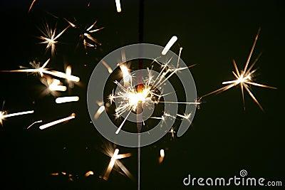 Fireworks Stars and Sparklers