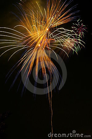 Fireworks - streak