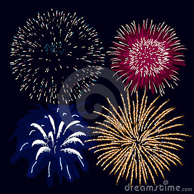 Fireworks (vector)