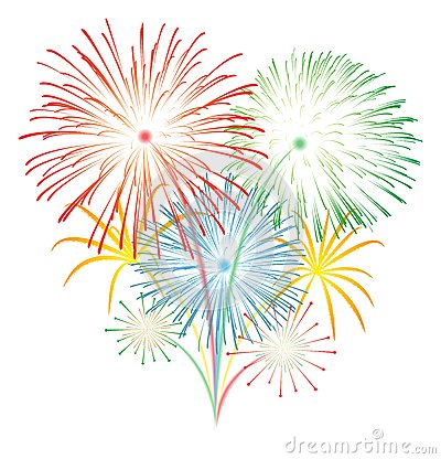 Free Fireworks Vector Stock Images - 36014104