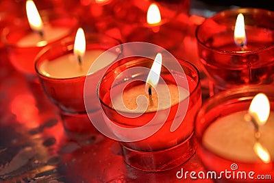 Firing candles