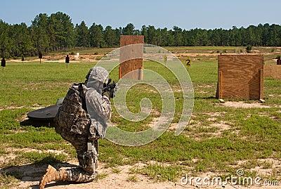 Firing Range Editorial Photo