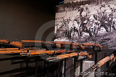 Firing squad from Finnish civil war Editorial Stock Image