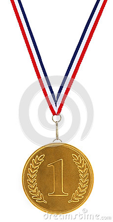 Free First / 1st Place Gold Medal Stock Photography - 27562662