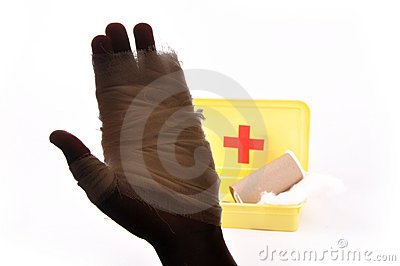 First Aid Royalty Free Stock Photography - Image: 10557437