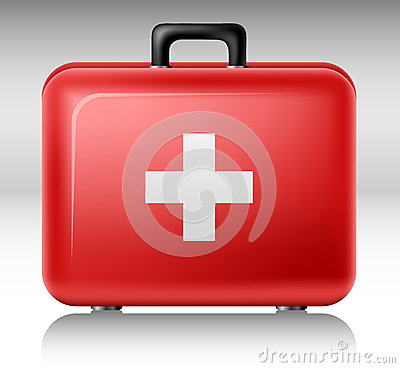 Free First Aid Box Royalty Free Stock Photo - 32615085