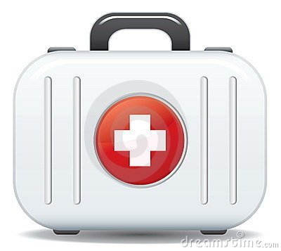 Free First Aid Box Royalty Free Stock Photos - 9155928