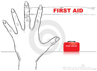 First Aid Finger