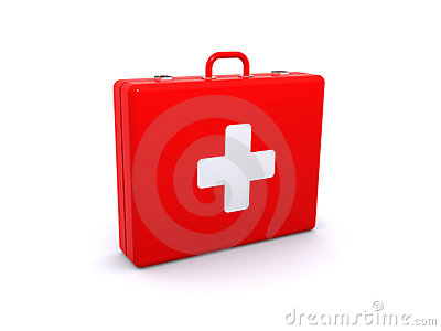 First aid kit Editorial Stock Photo