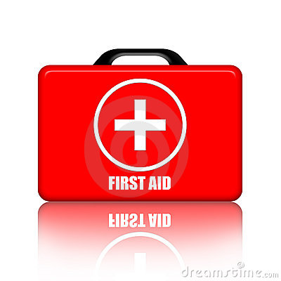First Aid Kit Editorial Stock Image
