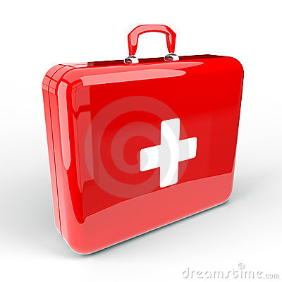 Free First Aid Kit Royalty Free Stock Photography - 20146247