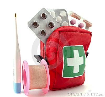 Free First Aid Kit Stock Image - 21566041