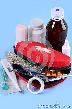 Free First Aid Kit Stock Photos - 26164303
