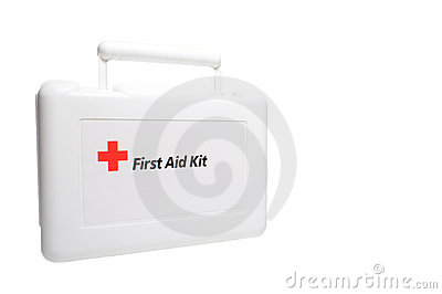First Aid Kit Editorial Photography