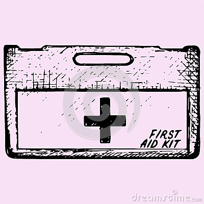 Free First Aid Kit Box Royalty Free Stock Images - 83947999