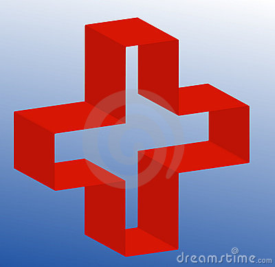 First aid or medical sign