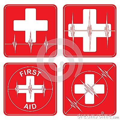 First Aid Medical Symbols