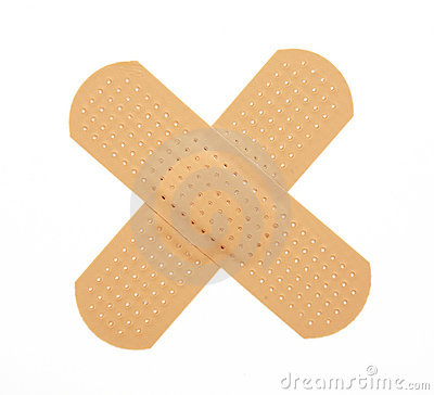Free First-aid Plaster Royalty Free Stock Photos - 10549788