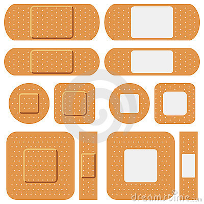 First Aid Plasters Collection