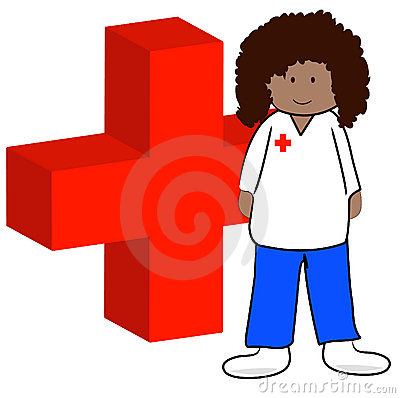 First aid worker