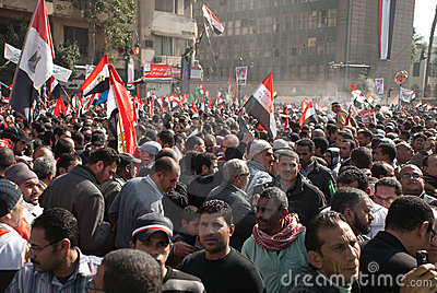 First Anniversary Of Egypt s Uprising Editorial Photography