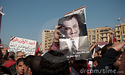 First Anniversary Of Egypt s Uprising Editorial Photo