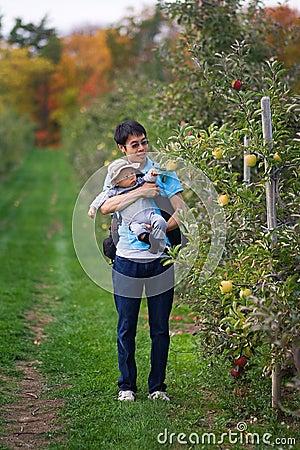 First Autumn Apple Pick