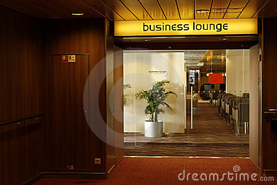 First Class Business Lounge area in the airport