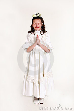 First communion 13