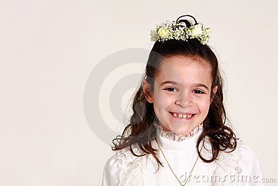 First communion 8
