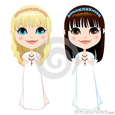 First Communion Girls