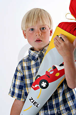 Free First Day Of School In Germany Royalty Free Stock Photography - 1855847