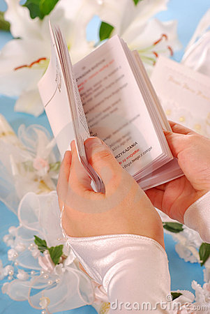First holy communion-prayer book
