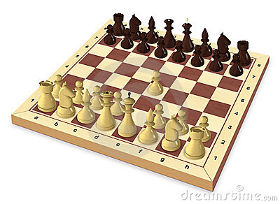 The first move of the chess game