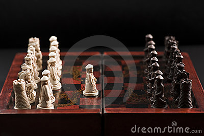 First move of a chess game