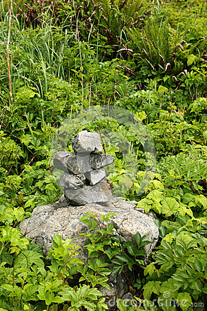First nations inukshuk