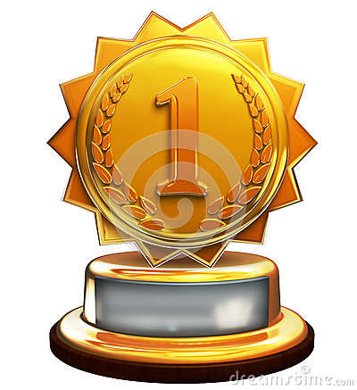 First place gold award, number one, clipping mask