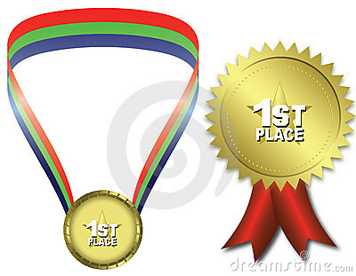 First place gold medal