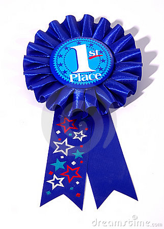 Free First Place Ribbon Royalty Free Stock Image - 33346