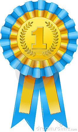 Free First Prize Award Icon Royalty Free Stock Images - 19449649