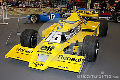 First Renault Turbo Formula One Editorial Image