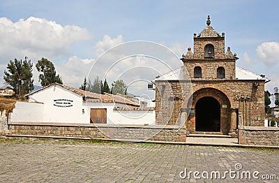 The first Roman Catholic Church in Ecuador