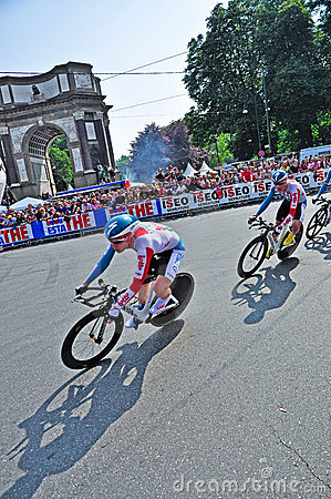 First stage of Giro d Italia 2011 in Turin, Italy Editorial Image