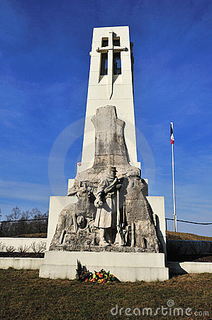 First world war Vauquois Monument