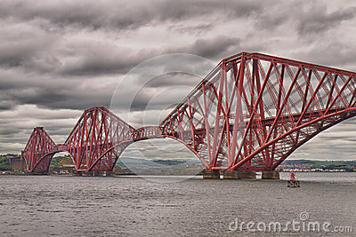 Firth of Forth Bridge, Scotland, United Kingdom