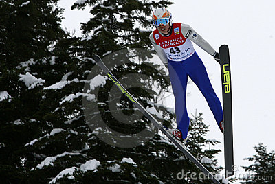 Fis World Cup Nordic Combined Editorial Photo
