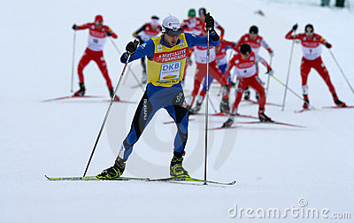 Fis World Cup Nordic Combined Editorial Stock Photo