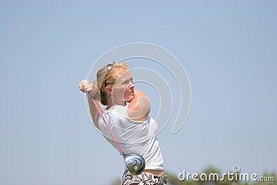 Fischer, Losone 2007, Golf Ladies european Editorial Photo